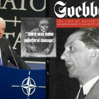 UNDER NAZI WINGS: How NATO tested the Goebbels' strategy of Humanitarian wars