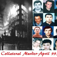 Will never forget NATO war crimes: On April 23rd 99 Belgrade TV station was bombed- 16 innocent lives taken (VIDEO)
