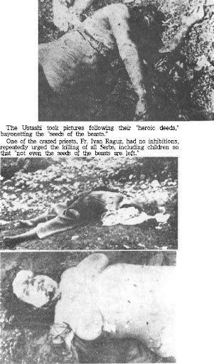 NDH ustaški pokolj