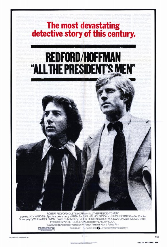 AgoraBeograd ObL76 YOU ARE ALL THE PRESIDENT'S MEN film  movie poster 1976