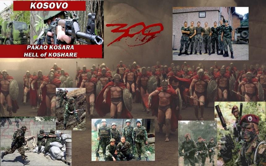 300SerbianSpartansAgainstNATO