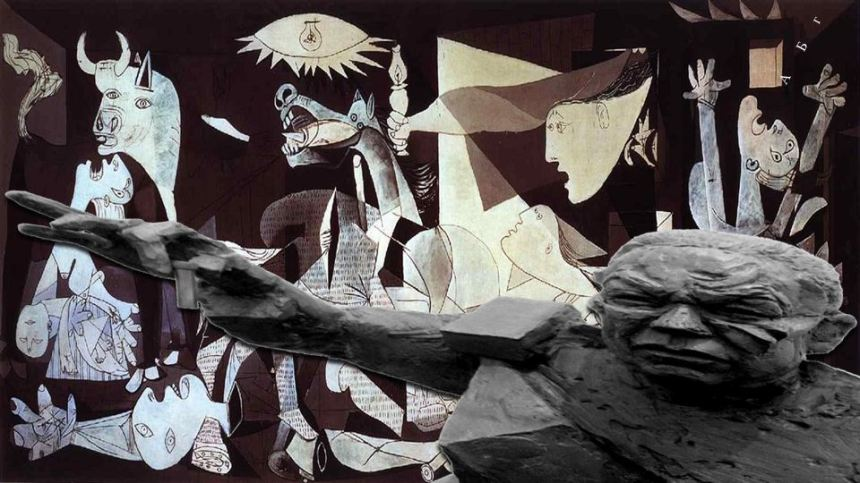 AgoraBeograd ObL41 GUERNICA CREATED by COLLIN POWELL