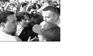 Thousands of Bosnian Muslims Welome Their Hero, Mass Murderer, Naser Oric