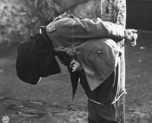AgoraBeograd ObL12 gen Anton DOSTLER  EXECUTED, Italy,  1945