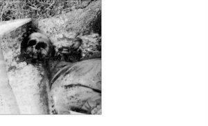 Bosnian Serb brutally tortured, mutilated and murdered by Izetbegovic's-Oric's Islamist troops in Sijekovac near Bosanski Brod