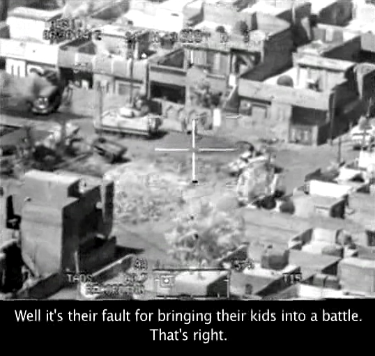 AgoraBeograd ObL89 IT'S THEIR FAULT BRINGING KIDS TO  BATTLE+COLLATERAL MURDER